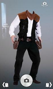 Cowboy Suit Photo Montage screenshot