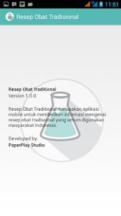 Resep Obat Tradisional screenshot