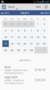玩免費商業APP|下載Shift Tracker Free app不用錢|硬是要APP