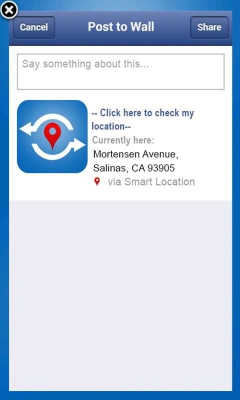 Smart Location- screenshot