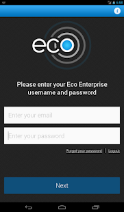 Eco On Site Tablet - screenshot thumbnail