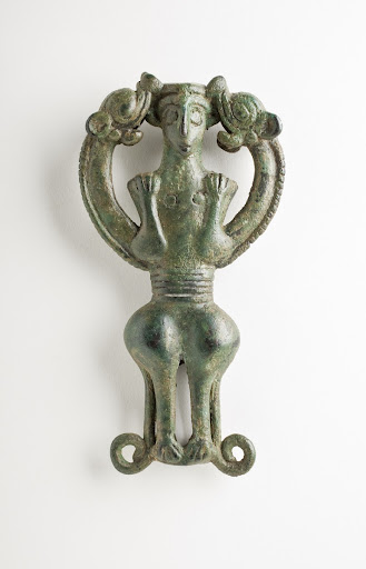 "Finial in the form of ""Master. of Animals"""