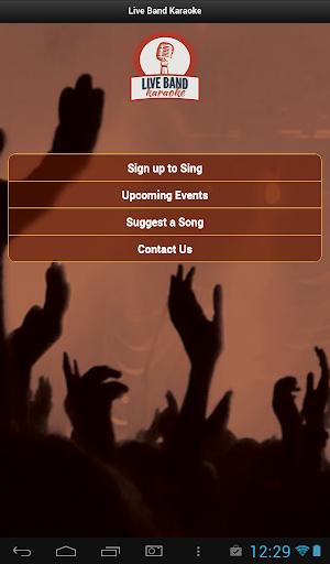 Live Band Karaoke by GCB