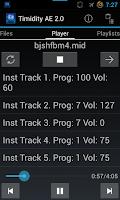 Screenshot of Timidity AE MIDI Player