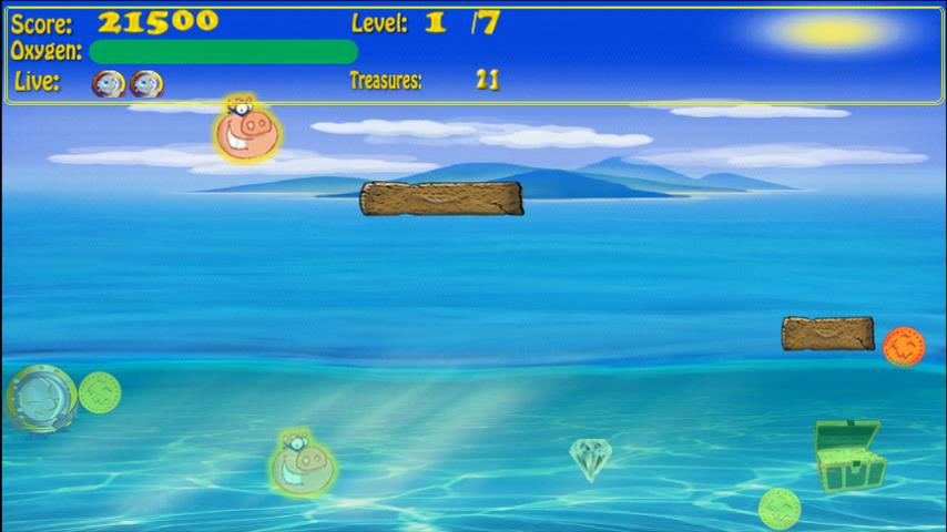 The Diver- screenshot