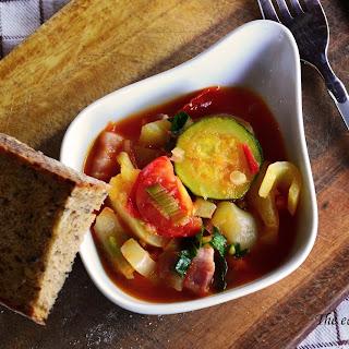 Hungarian Lecsó (Vegetable stew)