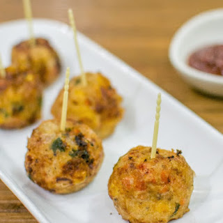 Golden-fried Sweet Corn Balls