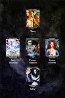 Screenshot of Crystal Wind Oracle Cards