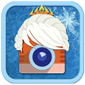 Snow Queen Camera HD icon