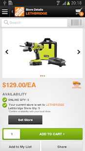 The Home Depot Canada- screenshot thumbnail