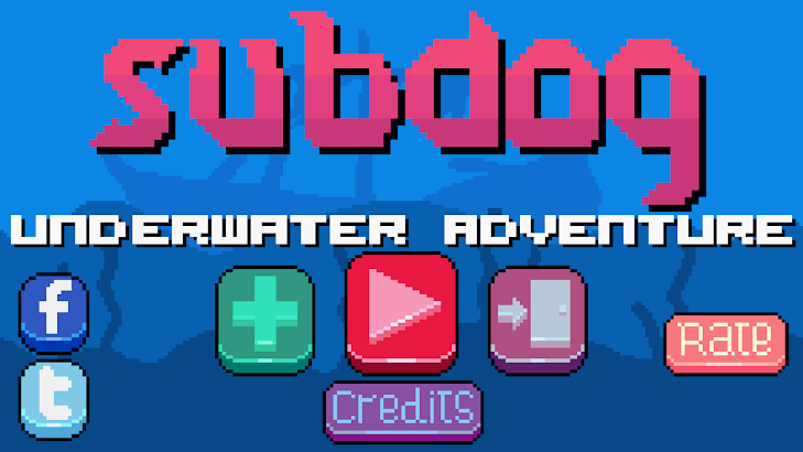 Subdog underwater adventure screenshot