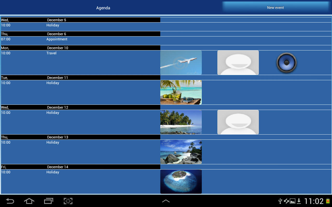 ClickCal Calendar - screenshot