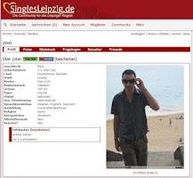 Screenshot of Singles-Leipzig.de