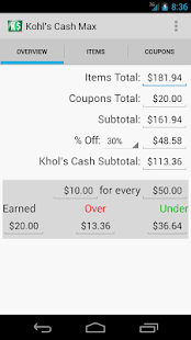Kohl's Cash Max - screenshot thumbnail