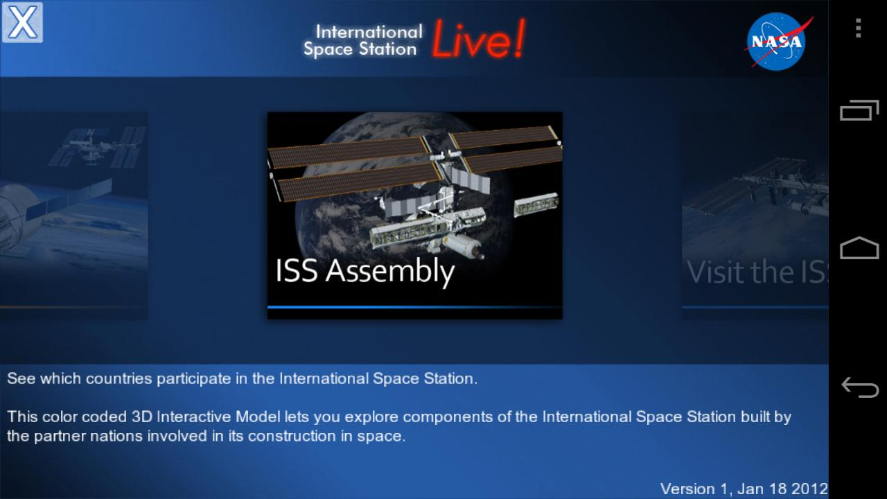ISSLive- screenshot