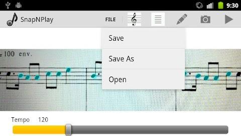 SnapNPlay music Demo Screenshot 4