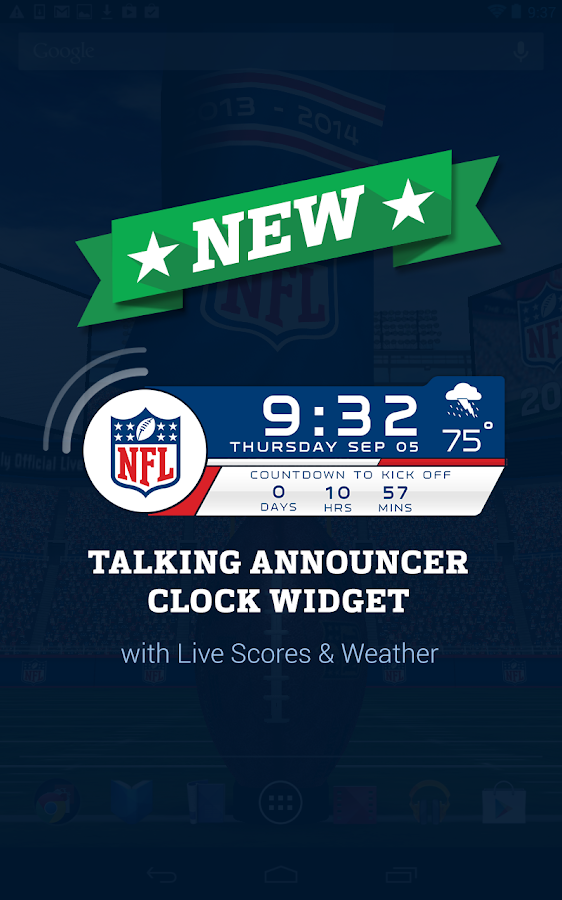NFL 2014 Live Wallpaper - screenshot