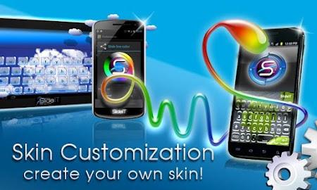 SlideIT Skin Customizer Screenshot 1