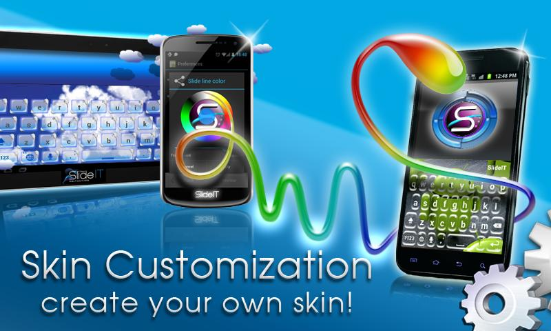 SlideIT Skin Customizer - screenshot