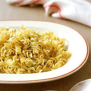 Egg Noodles in Caraway Butter