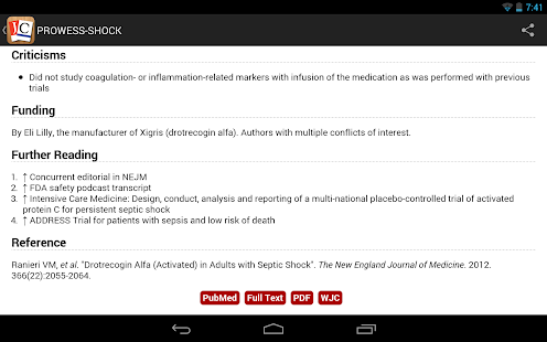 Journal Club for Android - screenshot thumbnail