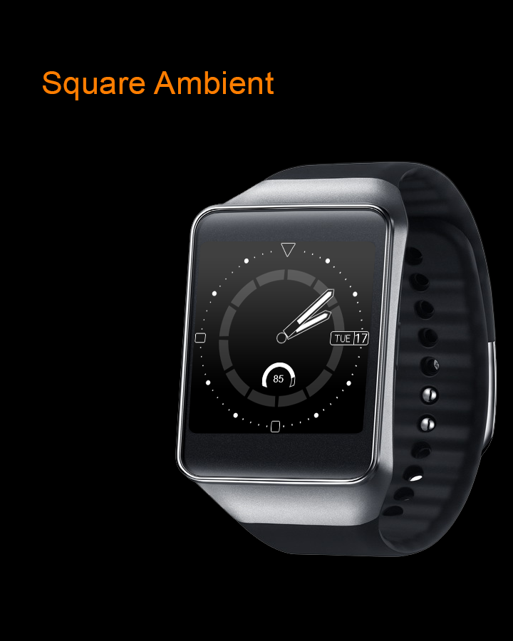 Orange Point Free Watch Face - Android Apps on Google Play