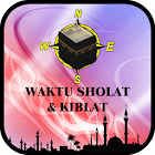 Waktu Sholat & Kiblat icon
