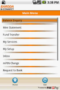 Bank of Baroda M-Connect - screenshot thumbnail