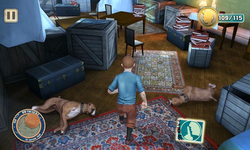 The Adventures of Tintin screenshot #11