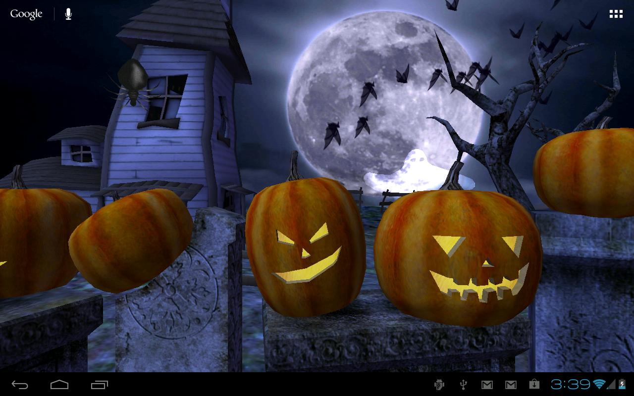 Halloween Live Wallpaper- screenshot