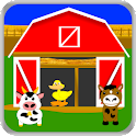 Farm Animals Game Names Sounds icon