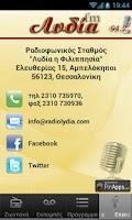 Screenshot of Λυδία FM