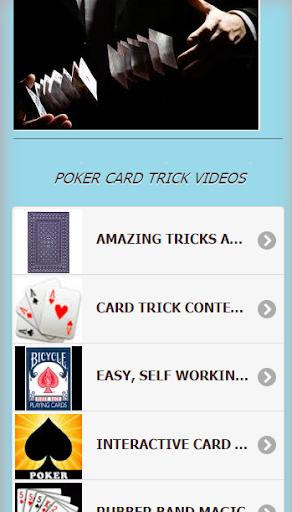 Poker Card Trick VDO Tutorial
