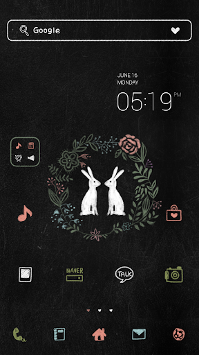 Rabbit dodol luancher theme