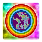 Rainbow Bubble Live Wallpaper