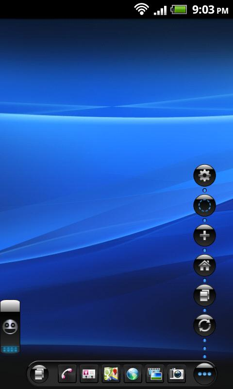 TSF Shell Theme Mexdroid HD- screenshot