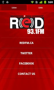 RED 93.1 FM - Vancouver - screenshot thumbnail