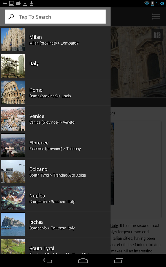 ✈ Italy Travel Guide Offline- screenshot