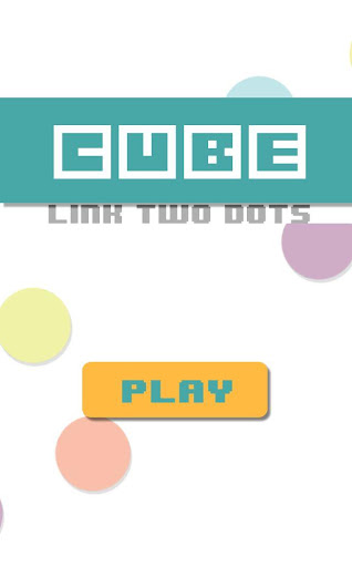 Cube Link Two Dots Christ mas
