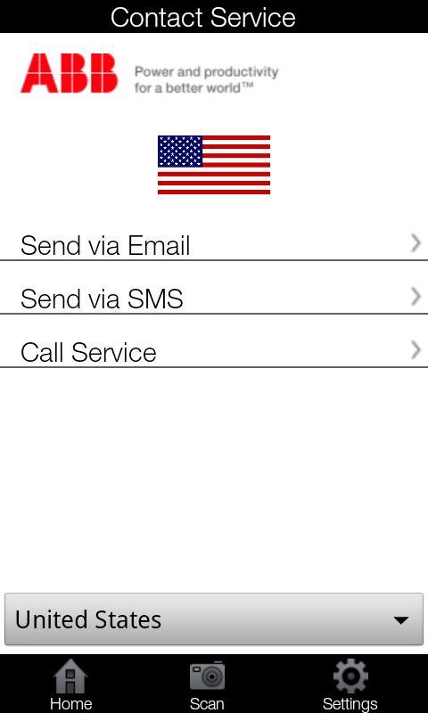 ABB Service- screenshot