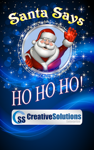 Santa Says No.1 XMas Messenger