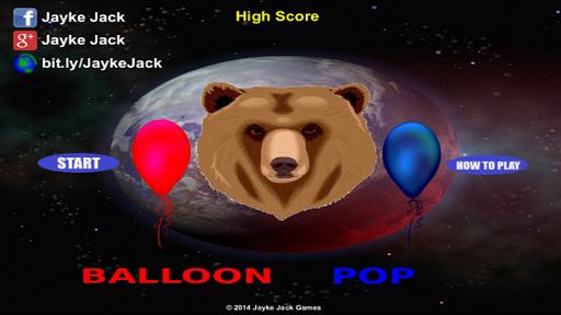 Bear Balloon Pop