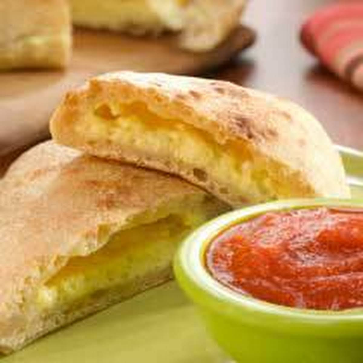 Cheesy Calzones