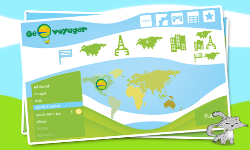 GeoVoyager - Fun Geography