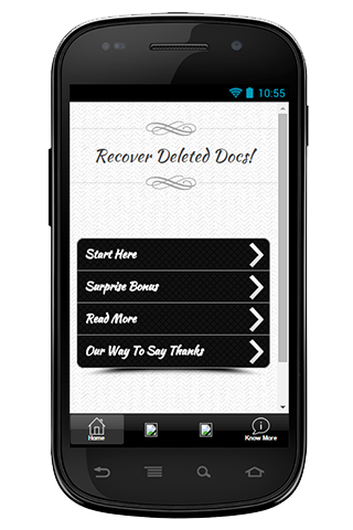 Recover Deleted Docs Guide