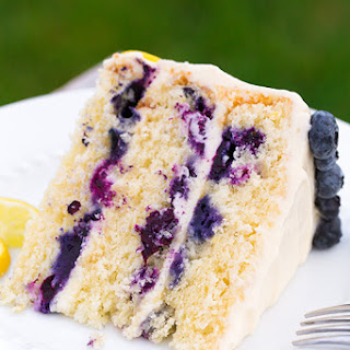 Lemon Blueberry Cake