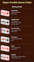 Screenshot of Super Double Bonus Poker