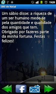 Mensagens de Natal (SMS) - screenshot thumbnail