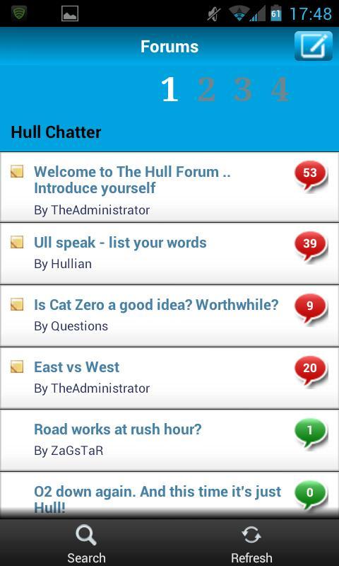 The Hull Forum - screenshot