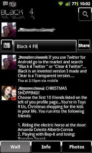 Black 4 Facebook - screenshot thumbnail